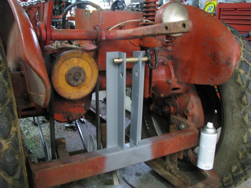 Homemade 3 Point Hydraulic Top Link : Diy point hitch attachments do it your self
