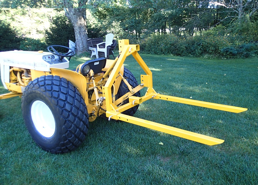 Tractor Boom Pole Lift : Lo boy quot swiss army hitch forks boom pole