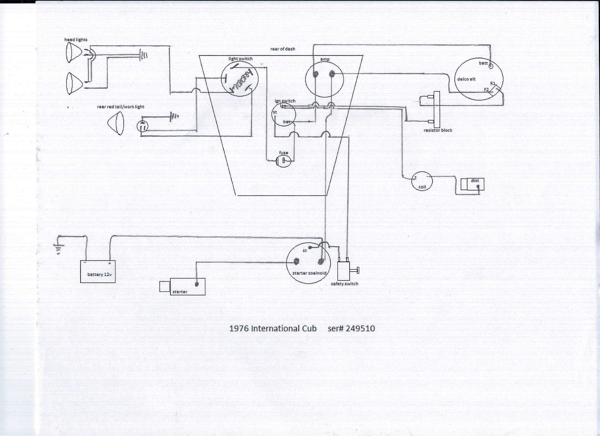 1976 Wiring Diagram