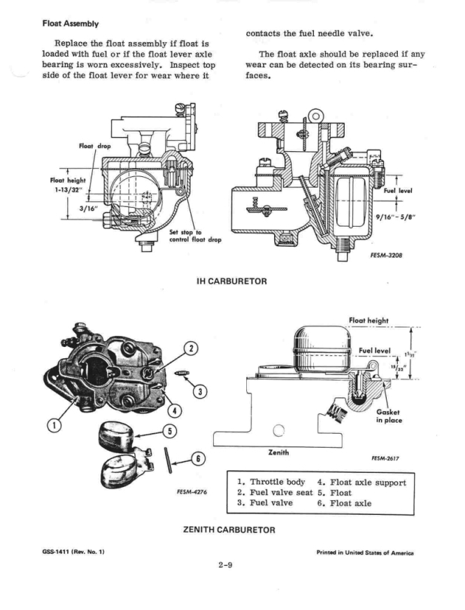 Farmall cub carb diagram nemetasfgegabeltfo re gas leaking out of carb newbie here ccuart Image collections