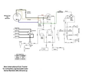 1948 farmall cub tractor wiring diagram longstripe safety switch - farmall cub