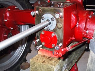 Transmission Input Shaft Bearins Seal and Retainer - Farmall Cub
