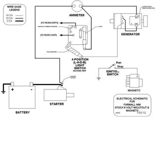 ouitlet and light switch wiring diagram farmall h light switch wiring diagram