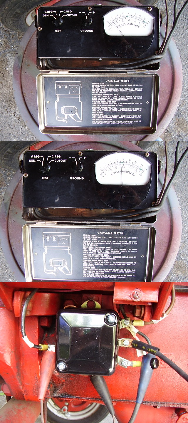 Voltage Regulator Question Farmall Cub Wiring Diagram Gen Test Vert